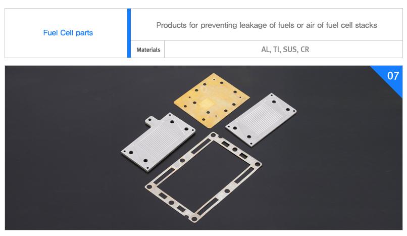 parts for fuel cells l Racing fuel cell parts l Halla Industry